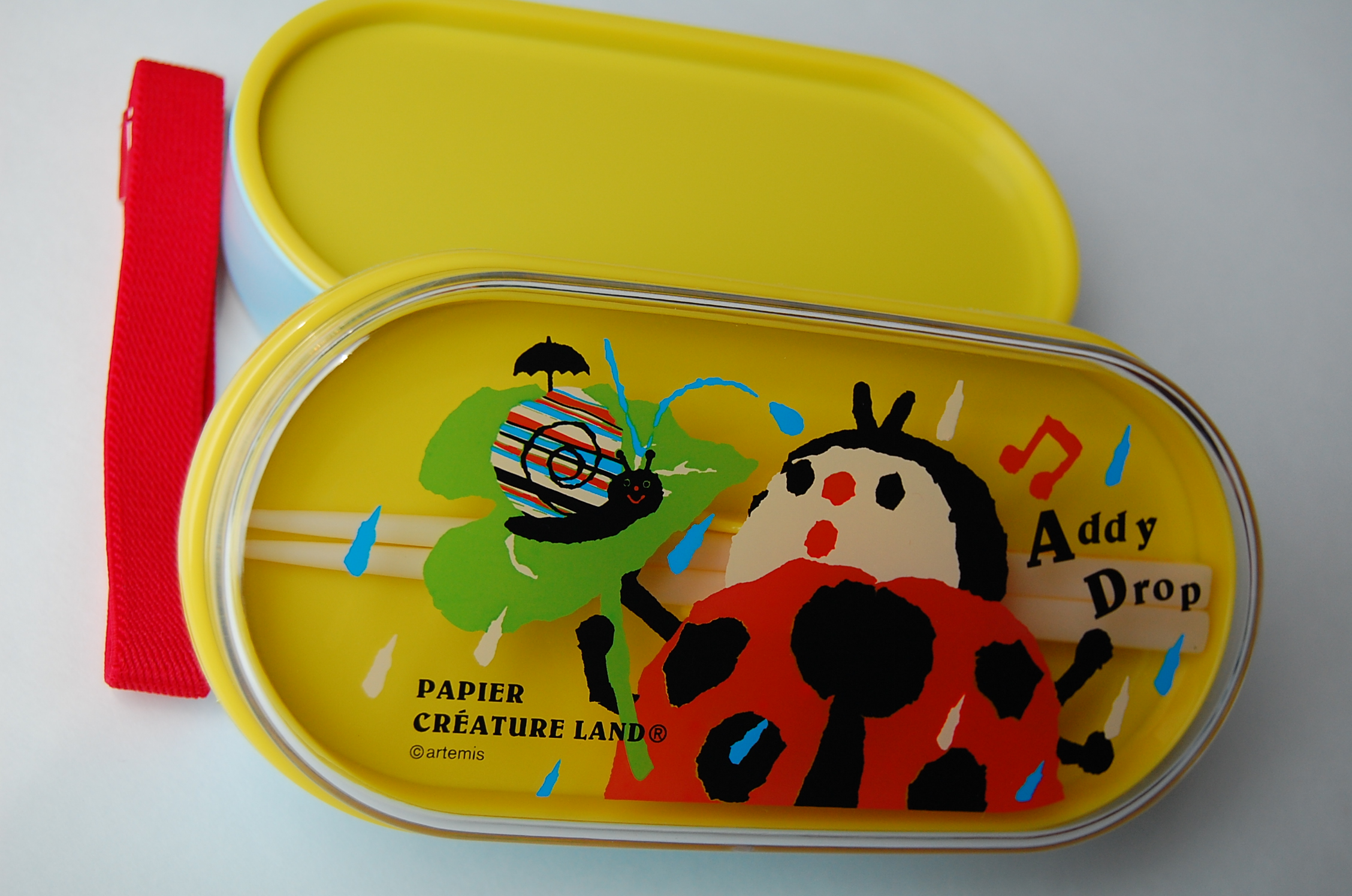 japanese 2 level bento lunch box papier addy drop free shipping thelittlebow online. Black Bedroom Furniture Sets. Home Design Ideas