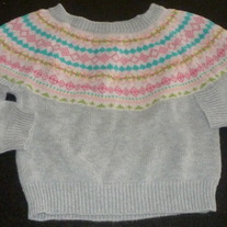 Gray Sweater-Old Navy Size 18-24 Months