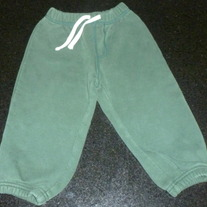 Green Sweat Pants-Baby Gap Size 2T