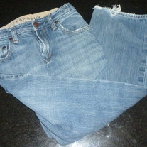 Denim Jeans-Gap Denim Size 8
