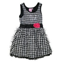 Lipstick Girls Sequin Chiffon Dress