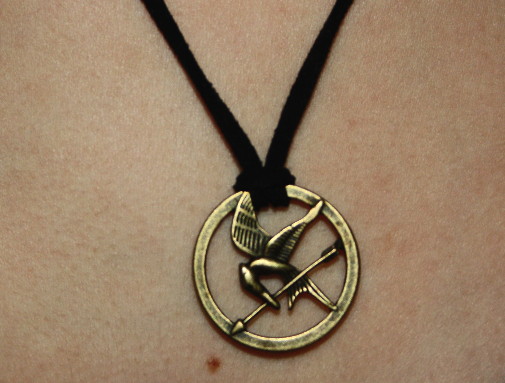 The heart of life hunger games inspired mockingjay necklace hunger games inspired mockingjay necklace aloadofball Images