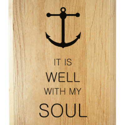 It is well with my soul plaque