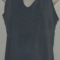 Gray Athletic Tank Top-Old Navy Maternity Size Large
