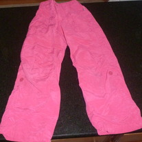 Pink Lined Wind Pants-Osh Kosh Size 5