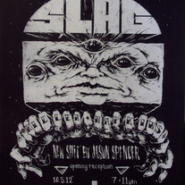 Slag Show - Screen Print Poster