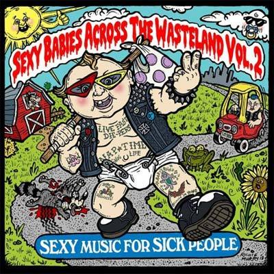 "Va ""sexy babies across the wasteland, vol 2"" cd"