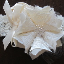 Chic Cream and Lace headband