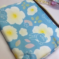 Blue Flower Coin Pouch [CK-48901]