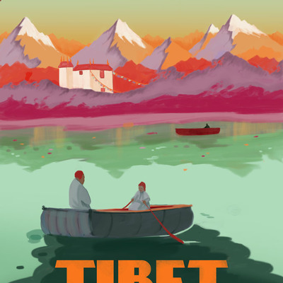 Tibet-see it by airship!