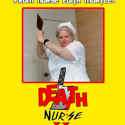 Slasher // video death nurse ii part 2 25th anniversary dvd sv:002 1988 shot on video