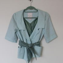 Sea Green Tracy Reese Jacket