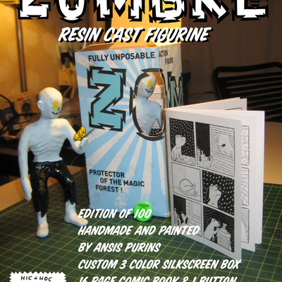 Zombre figurine (ansis purins)