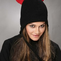 Black Devil Hat