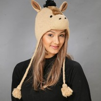 Brown Horse Hat