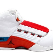 JORDAN 17 XVII RED/WHT/BLUE  302720 161