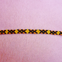 Diamond Braided Friendship Bracelet