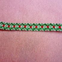 Christmas Braided Friendship Bracelet