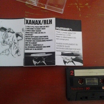HARSH SUPPLEMENT / XANAX FEAST (feat RUN LIKE HELL) split cs