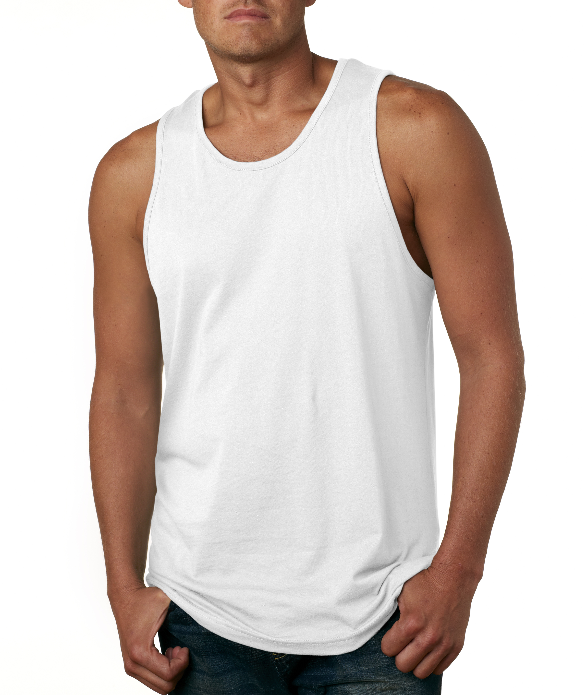Tank Tops For Men. Bye, bye sleeves! Whether worn alone or layered with a dress shirt, tank tops for men are super-versatile closet essentials. Look to brands like American Rag, Univibe, Ring of Fire and more. Outstanding Undershirts You can never have too many tanks. Stock up on undershirts in breathable cotton blends for comfort that lasts all day.