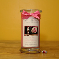 Think Pink Jewelry Candle