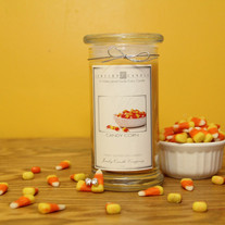 Candy Corn Jewelry Candle