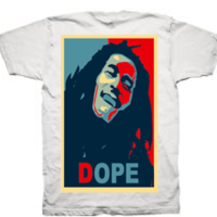 DOPE ON WHITE ORGANIC T - Thumbnail 1