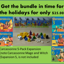 Carcassonne: Expansion Bundle