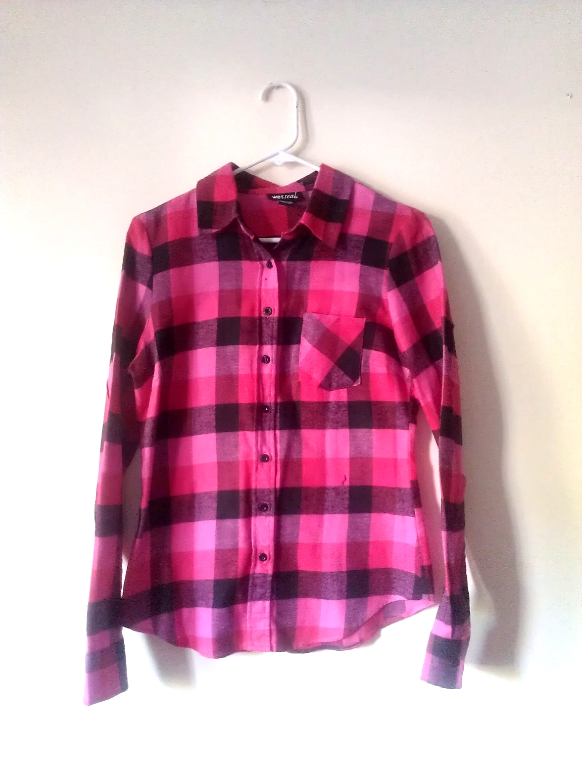 Skeletons In My Closet   Pink and Black Checkered Shirt   Online ...