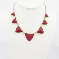 Triangular Tribal Necklace (More Colors Available)