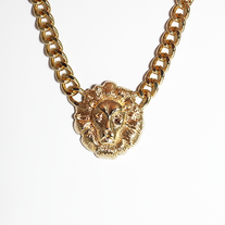 Heart of a Lion Necklace