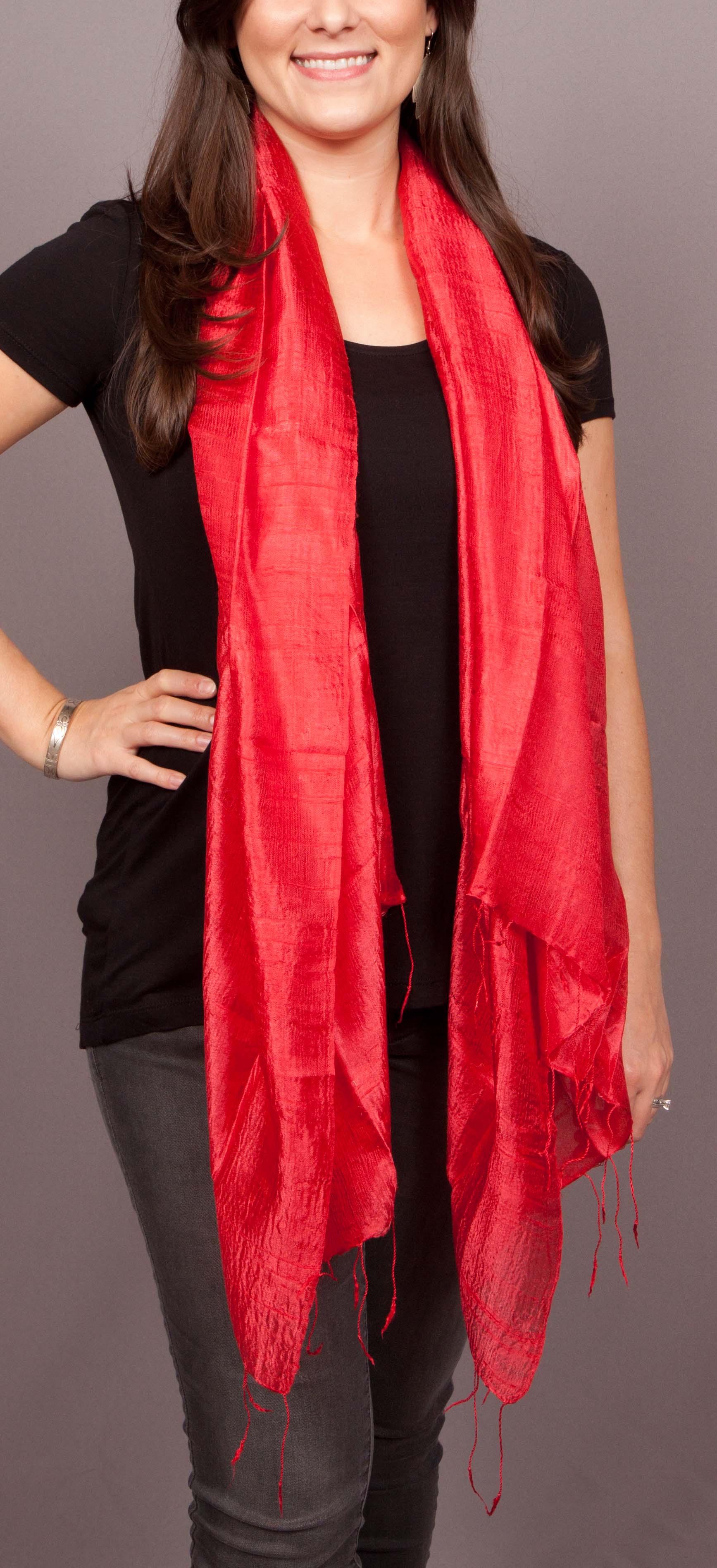 thai silk scarves large on storenvy