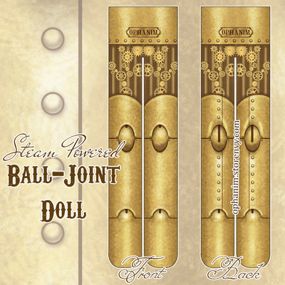 Steam powered ball joint doll tights