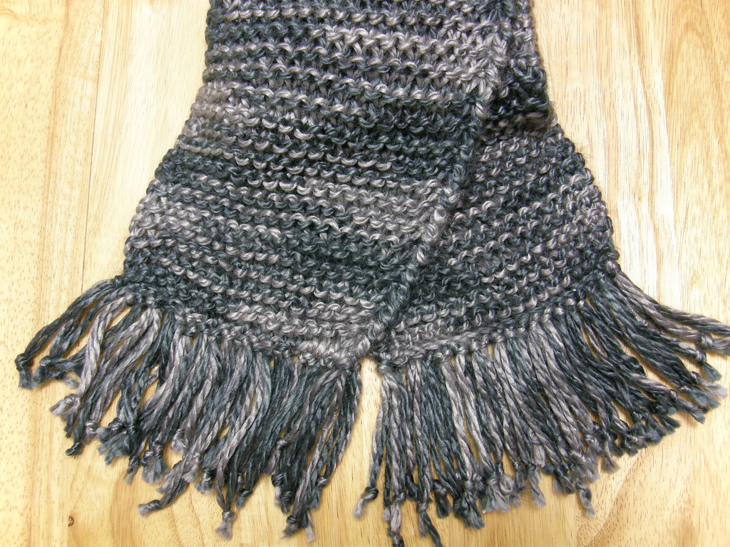 Hand Knitting : Alfa img - Showing > Hand Knit Scarf