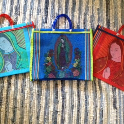 Lady guadalupe tote