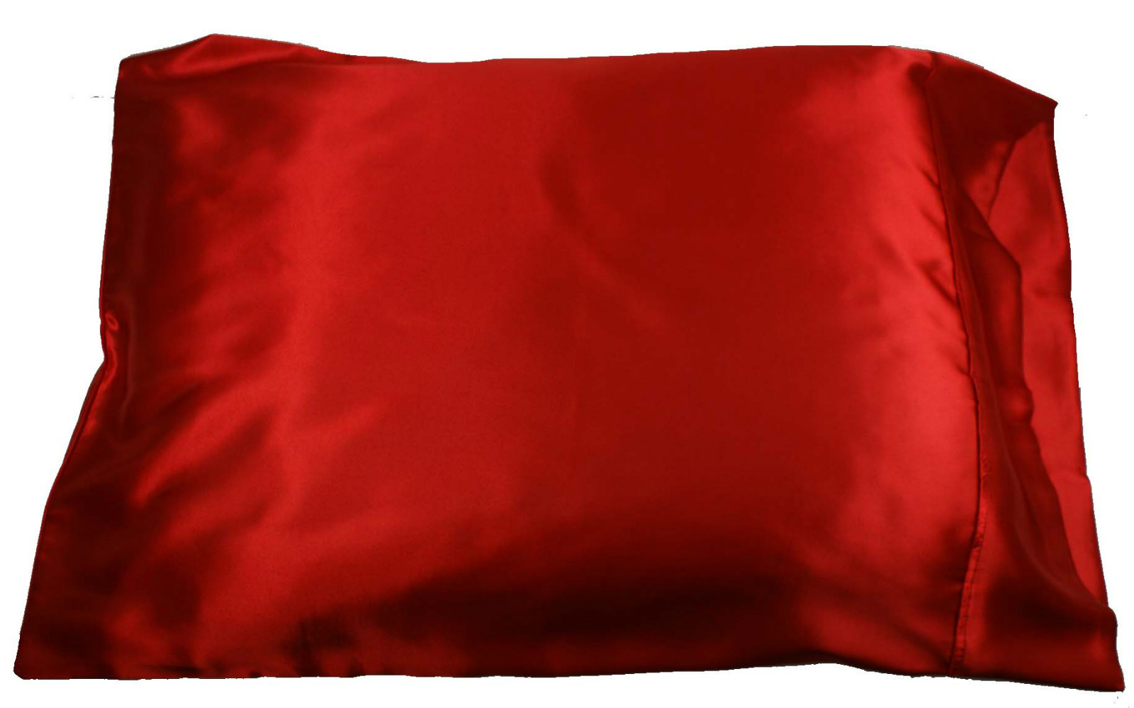 pc new queenstandard size silky satin pillow case multiple colors  - pc new queenstandard size silky satin pillow case multiple colors