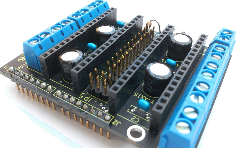 Arduino CNC Stepper Shield v3.0 - Kit with Components - Thumbnail 2