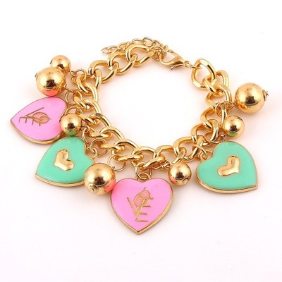 To be loved charm bracelet