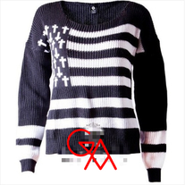 American Cross Knit (Black)