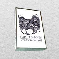 Fur of Heaven - A Year Without Teeth EP (Ltd. 100 Gold Foil & Blue Foil Cassettes)