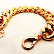 Rose Gold Bracelet ** FREE SHIP