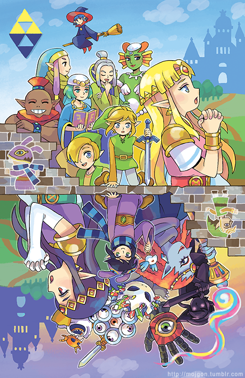 previous next mojgon posters a link between worlds posterA Link Between Worlds Poster