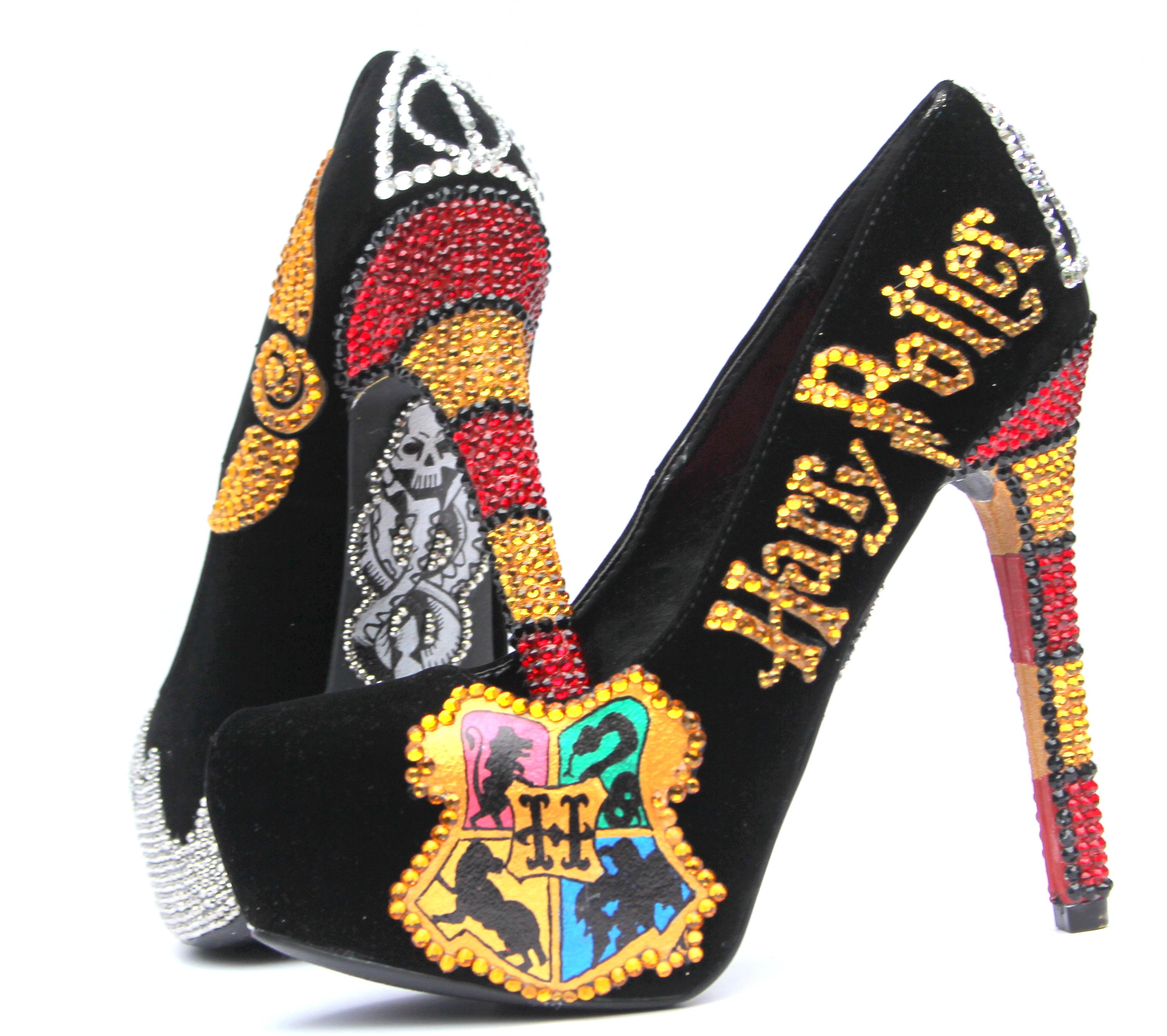 Hand Painted High Heels