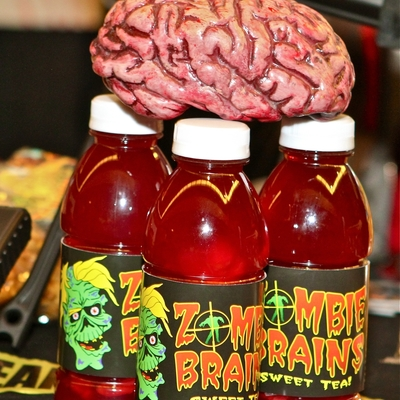 Zombie brains (sweet tea)