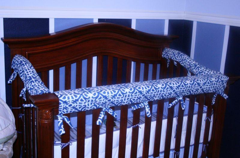 crib rail custom slot