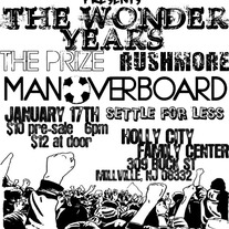 NON-AUTOGRAPHED MAN OVERBOARD/THE WONDER YEARS SHOW POSTER