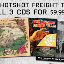 The Hotshot Freight Train-3 Album Combo Pack