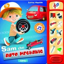 Sam The Auto Mechanic by AZ Books