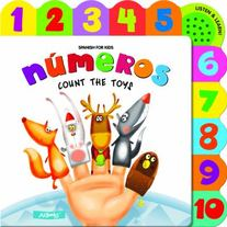 Numeros Count The Toys by AZ Books