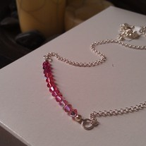 Candy Pink Swarovski Necklace